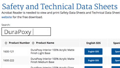 Material Safety and Technical Data Sheets