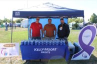 Booth at Relay for Life