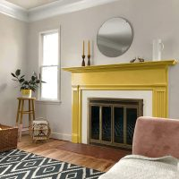 Kelly-Moore color of the year painted living room