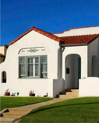 Spanish Style House, Cream