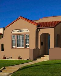 Spanish Style House, Terracotta