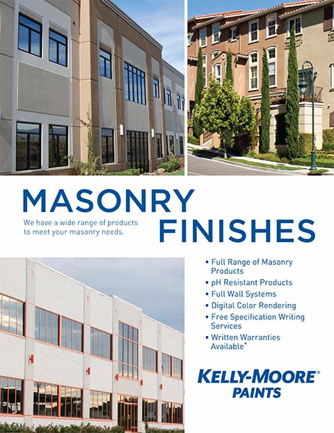 Masonry Finishes Brochure