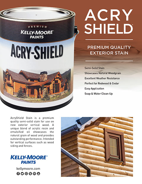 Acry-Shield Stain Brochure