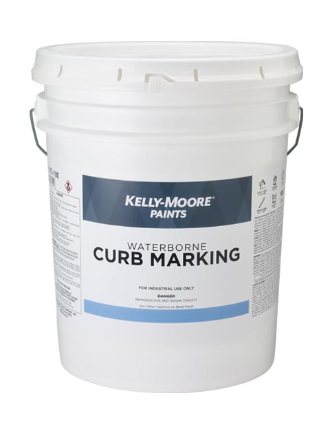 Kelly-Moore Paints 1473 Waterborne Curb Marking Paint Can 5 Gallon