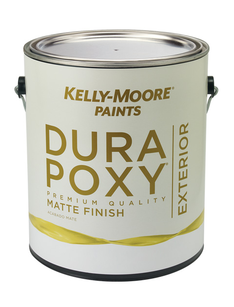 Kelly-Moore Paints DuraPoxy Exterior Matte Finish Paint Can