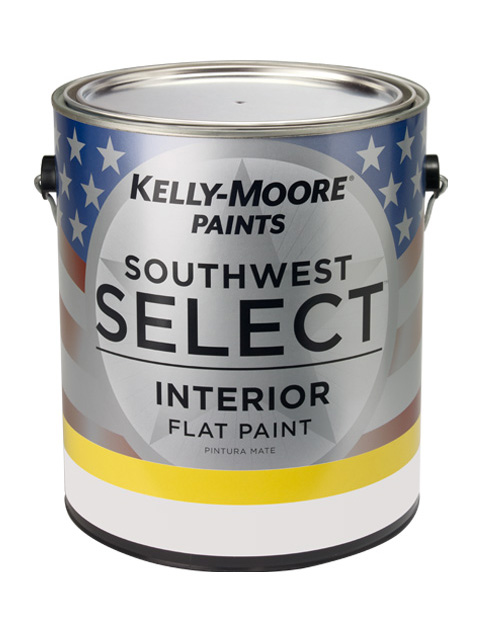 Kelly-Moore Paints 20021 Southwest Select Interior Flat Paint Can