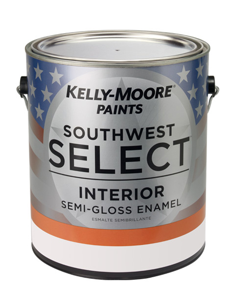 Kelly-Moore Paints 20083 Southwest Select Interior Semi-Gloss Enamel Paint Can