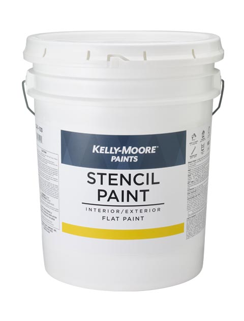 Kelly-Moore Paints 341 Pallet Marking Flat Paint Can
