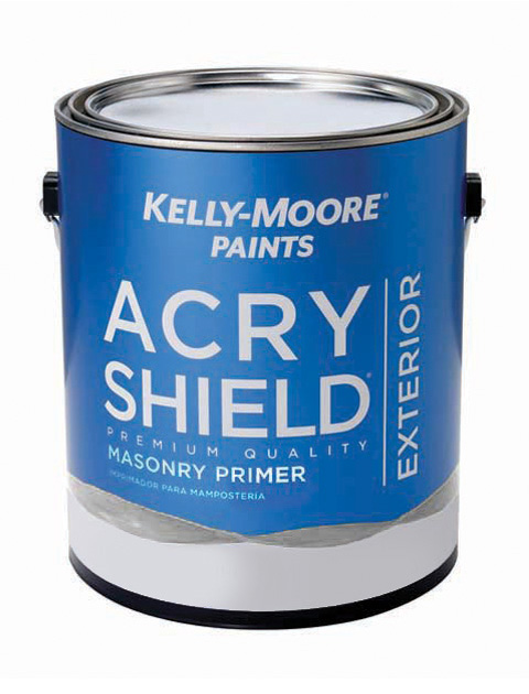 Kelly-Moore Paints 247 AcryShield Masonry Primer Paint Can