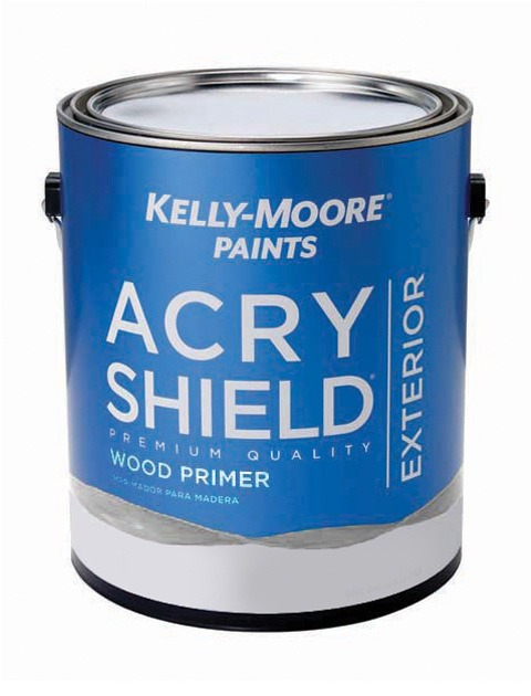 Kelly-Moore Paints 255 AcryShield Wood Primer Paint Can