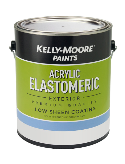 Kelly-Moore Paints 1119 ElastaKote Acrylic Elastomeric Paint Can