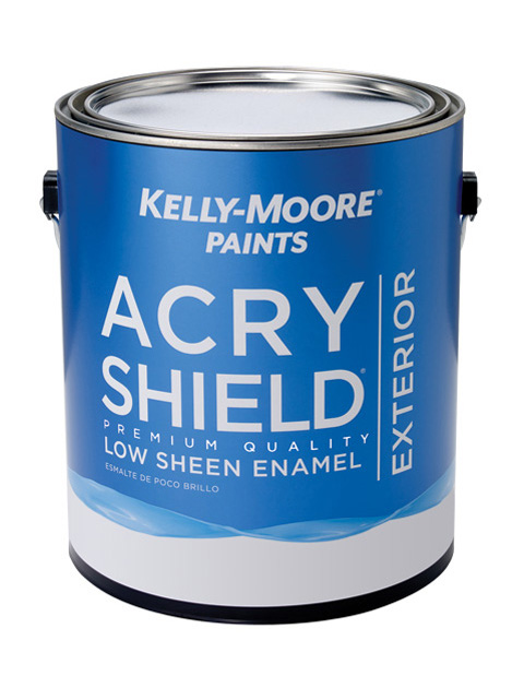 Kelly-Moore Paints 1245 AcryShield Paint Can