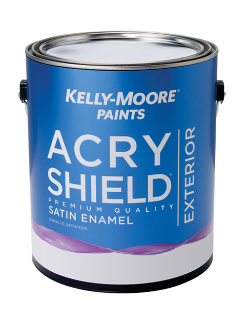 Kelly-Moore Paints 1247 AcryShield Paint Can