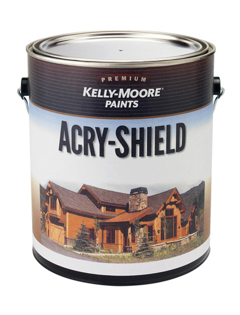 Kelly-Moore Paints 1285 Acry-Shield Stain Paint Can