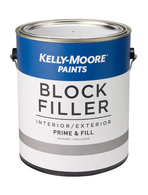 Kelly-Moore Paints 521 Block Filler Paint Can
