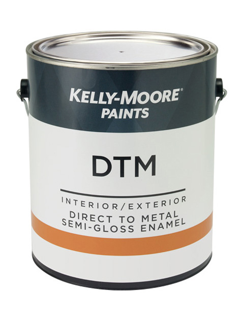 Kelly-Moore Paints 5885 DTM Semi-Gloss Paint Can