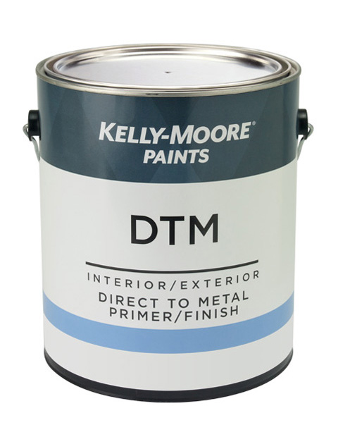 Kelly-Moore Paints 5725 DTM Primer Paint Can