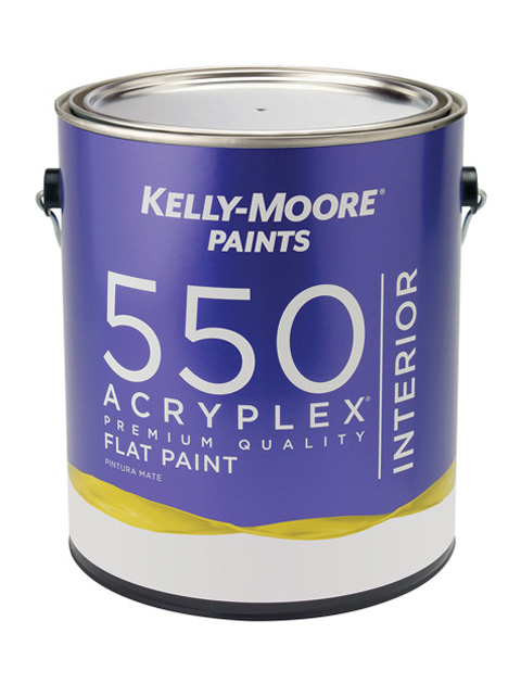 Kelly-Moore Paints 550 AcryPlex Paint Can