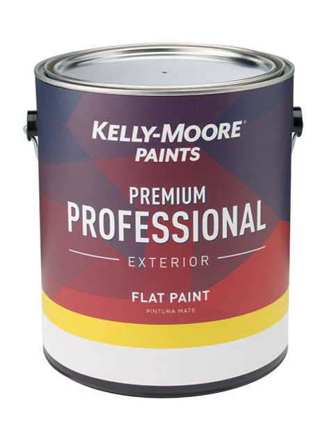 Kelly-Moore Paints 1200 Premium Professional Exterior Paint Can