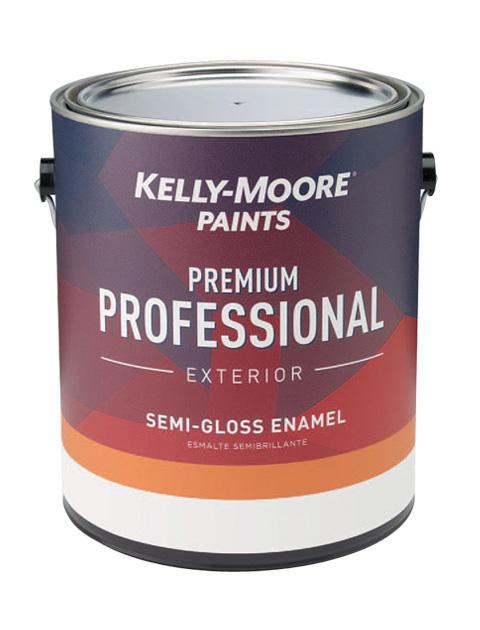 Kelly-Moore Paints 1215 Premium Professional Exterior Paint Can