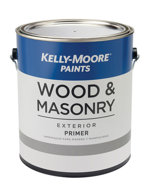 Kelly-Moore Paints 250 Wood & Masonry Primer Paint Can